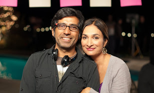 Ravi Kapoor (Director and co-writer) and Meera Simhan (Co-writer, actor and creative producer)